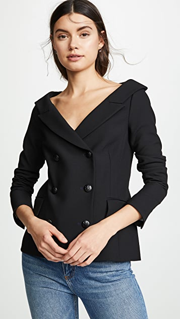 Veronica Beard -Frayne blazer - black