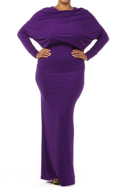 Plus Size Multi-way dress- (L-3XL)
