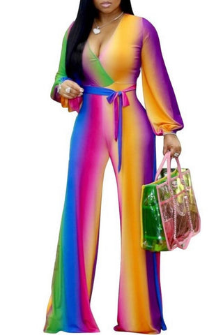 Color Me Bad Jumpsuit (Sm- 2XL)