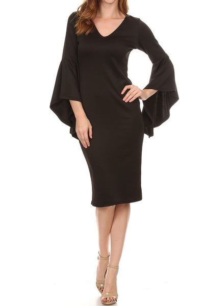Small Bella Sheath Dress - (S-L) 2 left