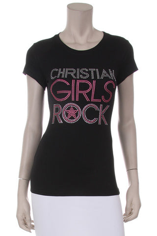 Christian Girls Rock T-shirt
