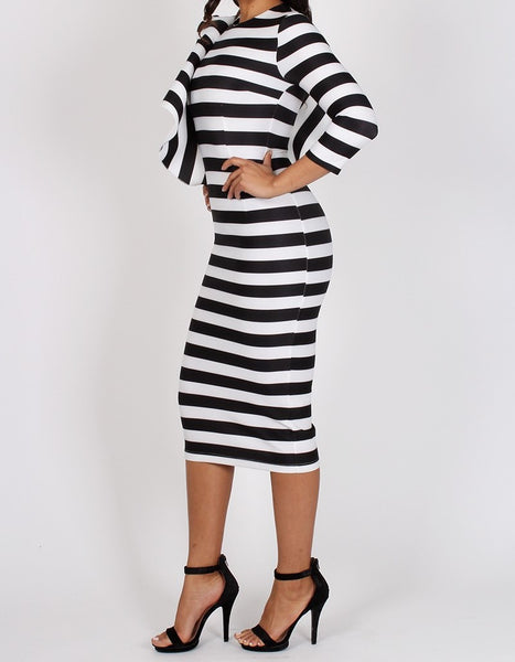 Striped Lafayette Dress (ON BACK ORDER)