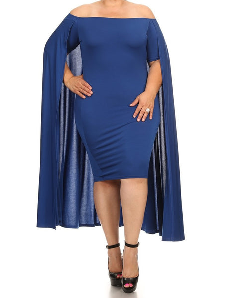 Manteau Dress (available in other colors)  Regular and Plus Sizes