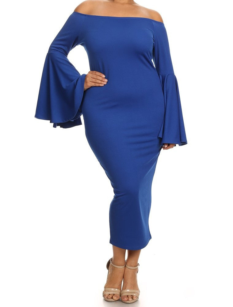 LaBelle Dress (L-2XL)  available in other colors