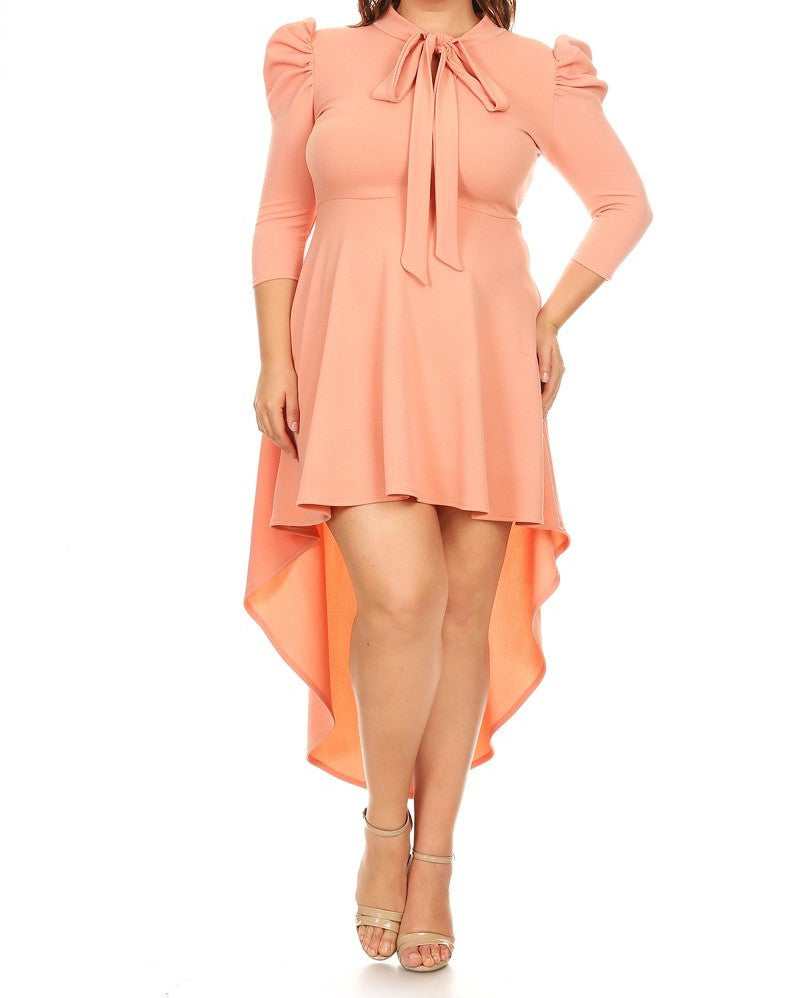 Solid Passion Dress (XL-3XL) other colors available
