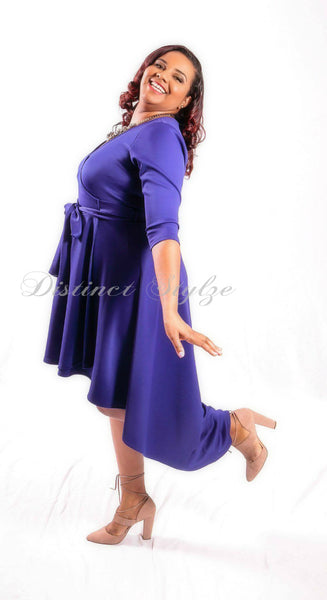 Dyna Falls Wrap Dress  (other colors available) SOLD OUT