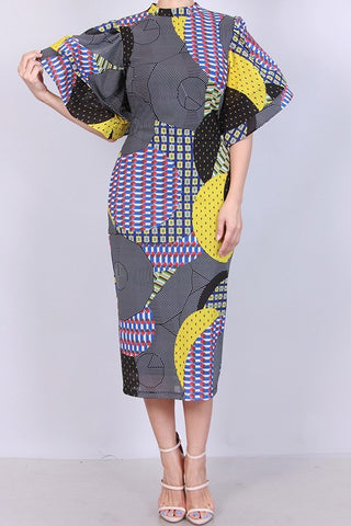Geometric Glory Dress (S-L) other colors available