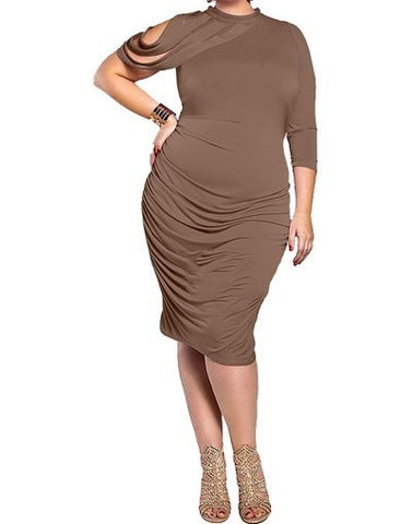Mudelia Fringe Dress (XL-3XL) other colors available
