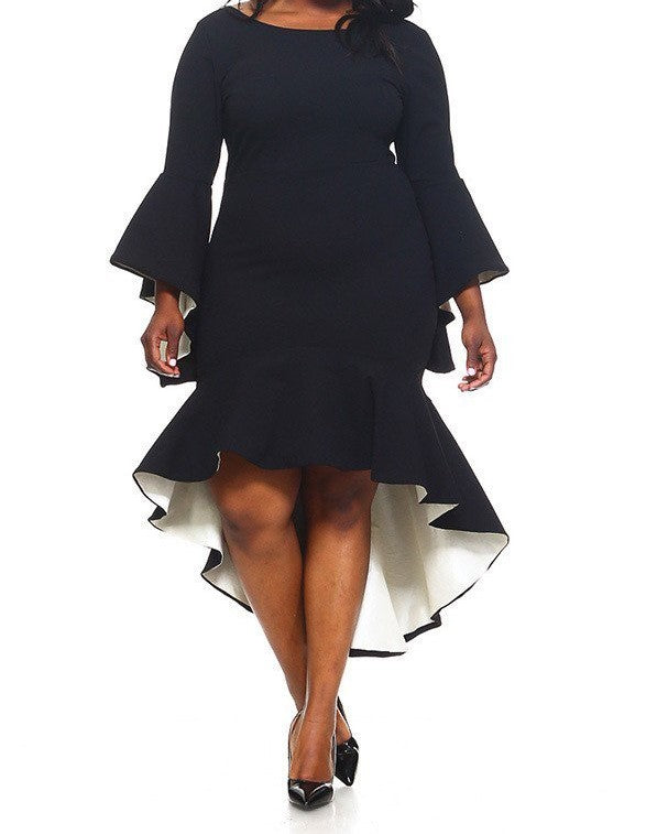 The Valeria Dress (1XL-3XL) Other colors available