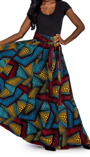 Ethnic Print Skirt (ONE SIZE FITS ALL)