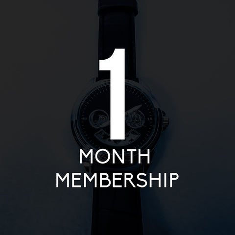 1 Month Membership (july)