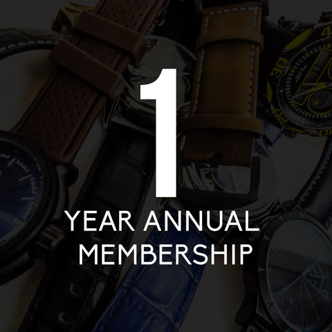 Men's 1 Year Annual Membership