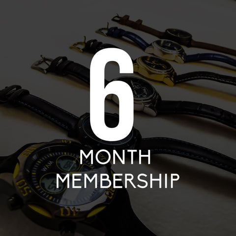 Men's 6 Month Membership