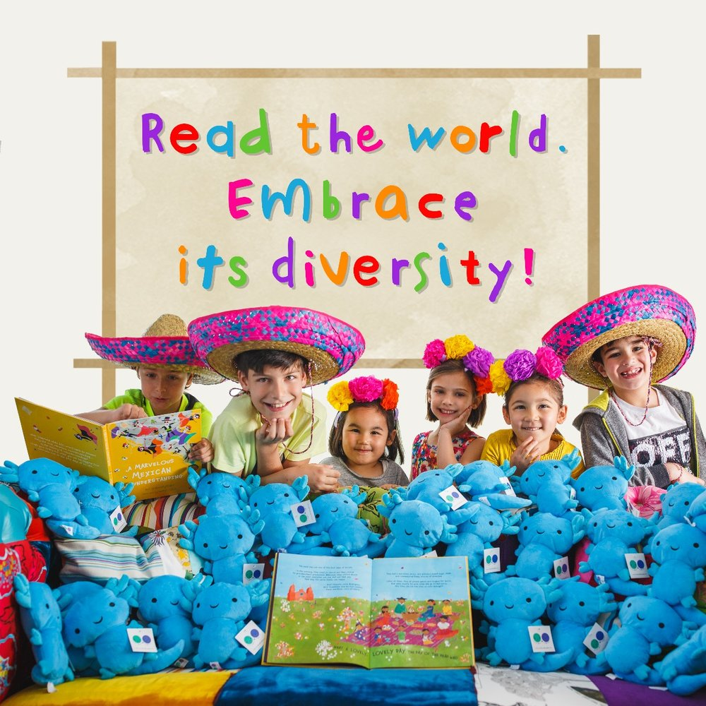 Read the world! Embrace its diversity.
