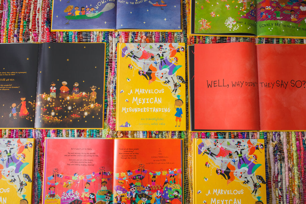 Why children all over the world need to read this color-bursting picture book