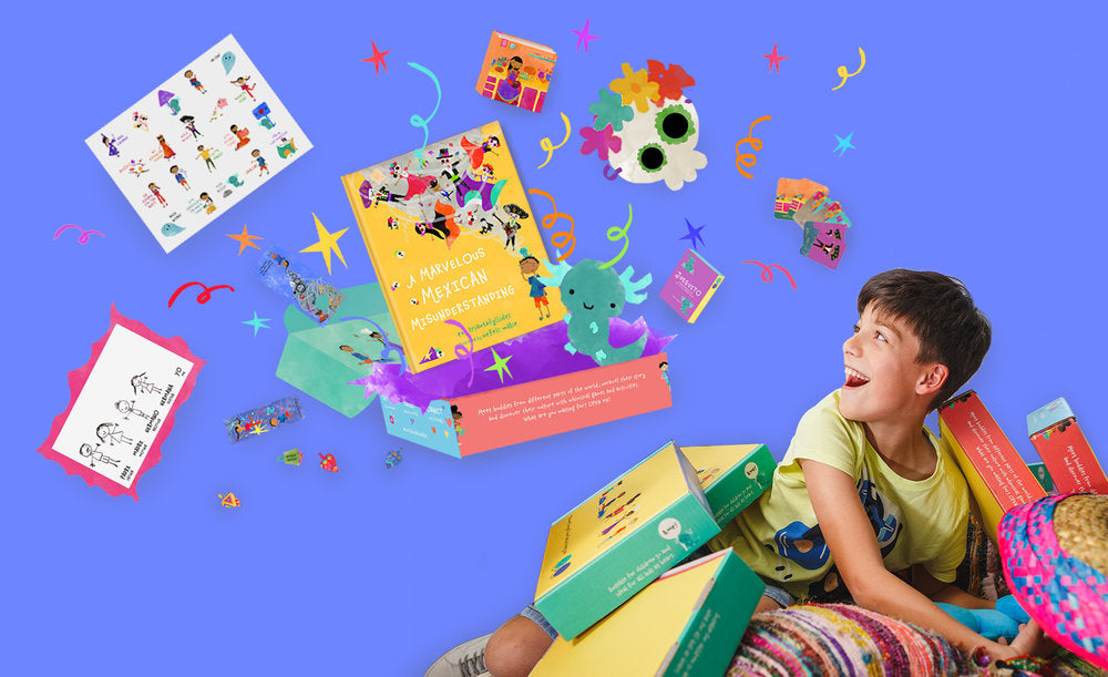 Move over, halloween. this box will teach your little ones all about the day of the dead