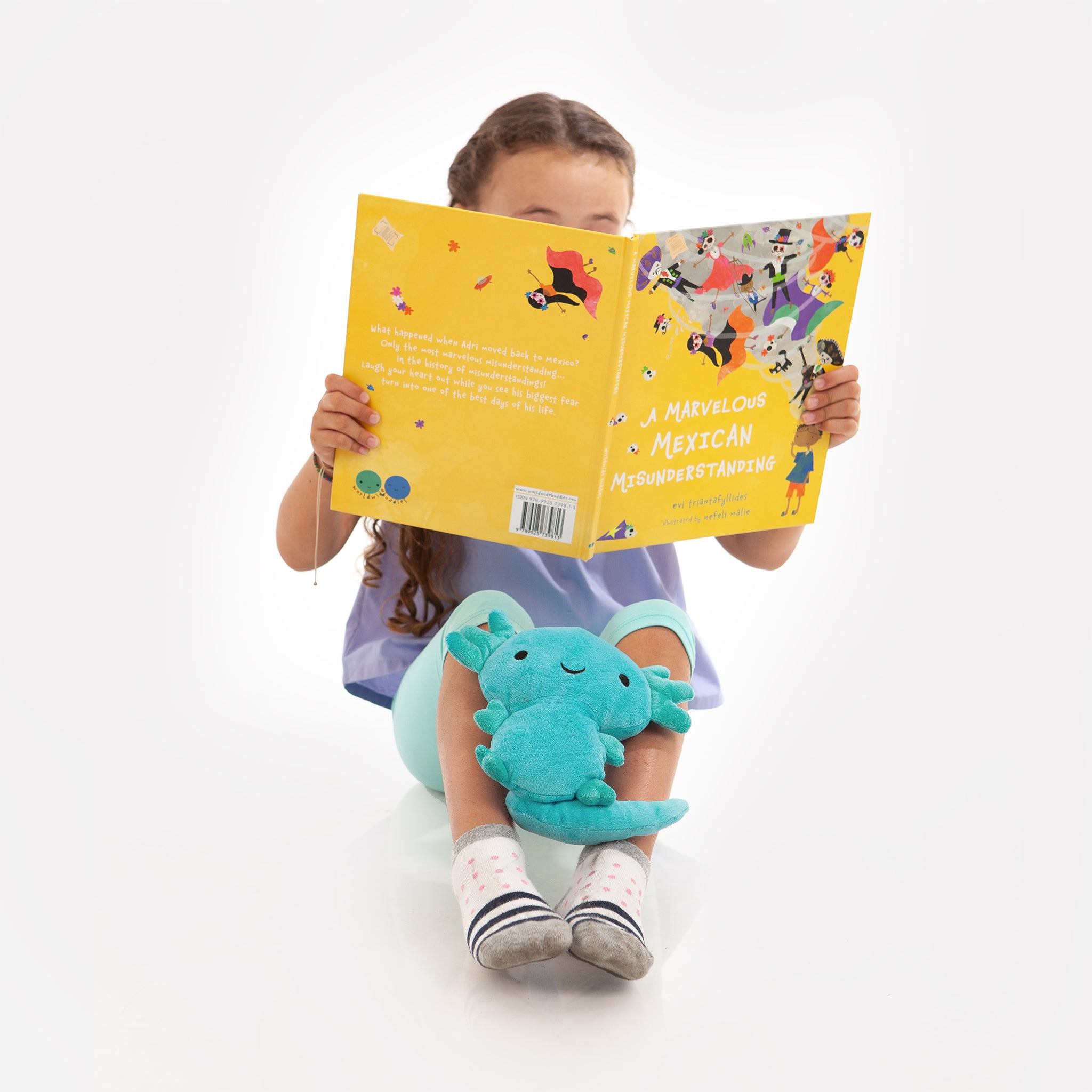 Mexico Gift Bundle: Picture Book and Plush