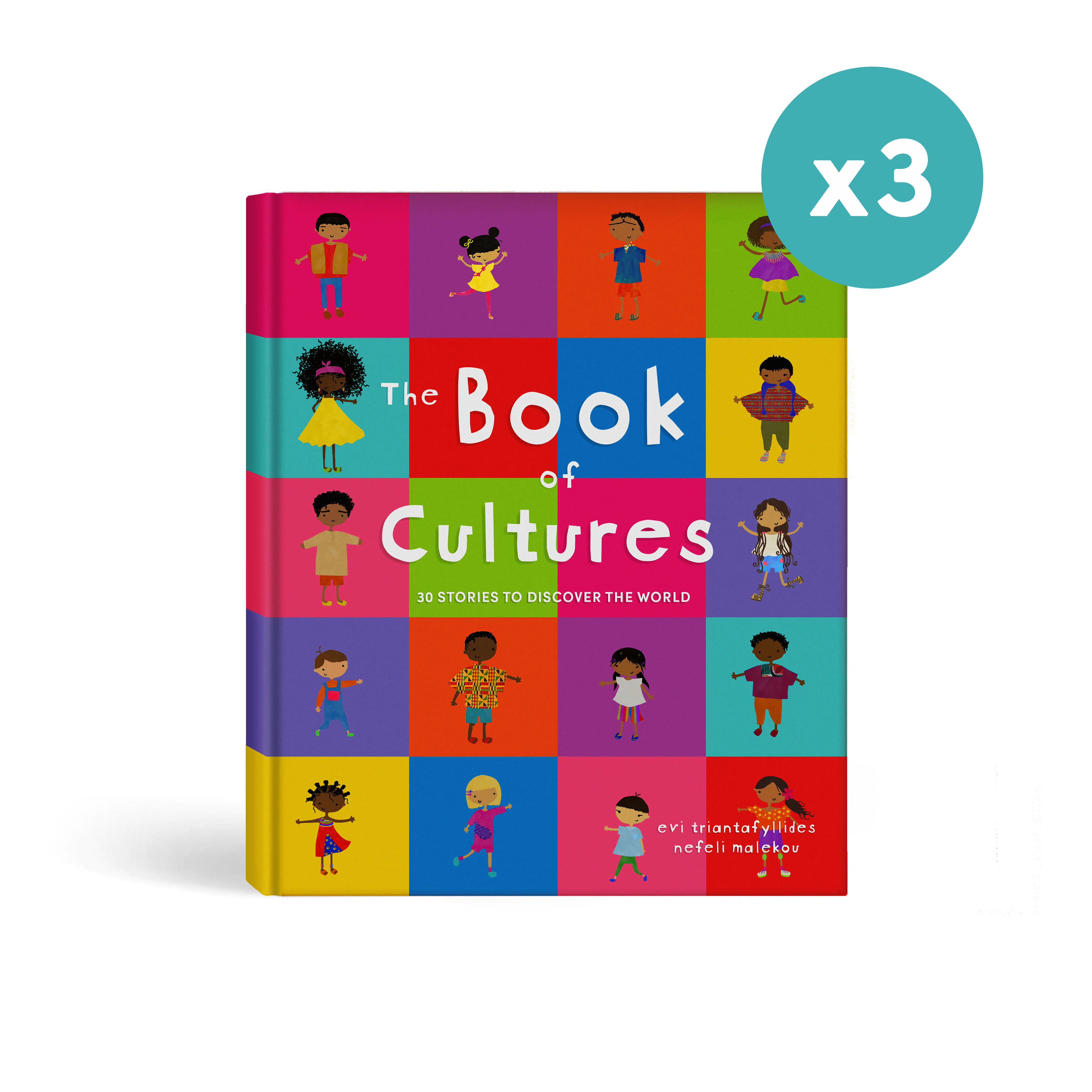 3 x The Book of Cultures