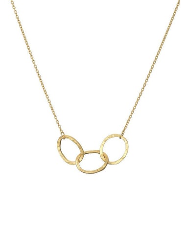 Mary k gold 3 oval link necklace