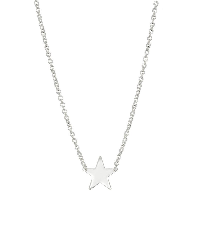 Mary K Silver Star Necklace