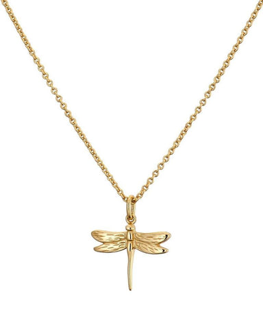 Mary K Gold Dragon Fly Necklace