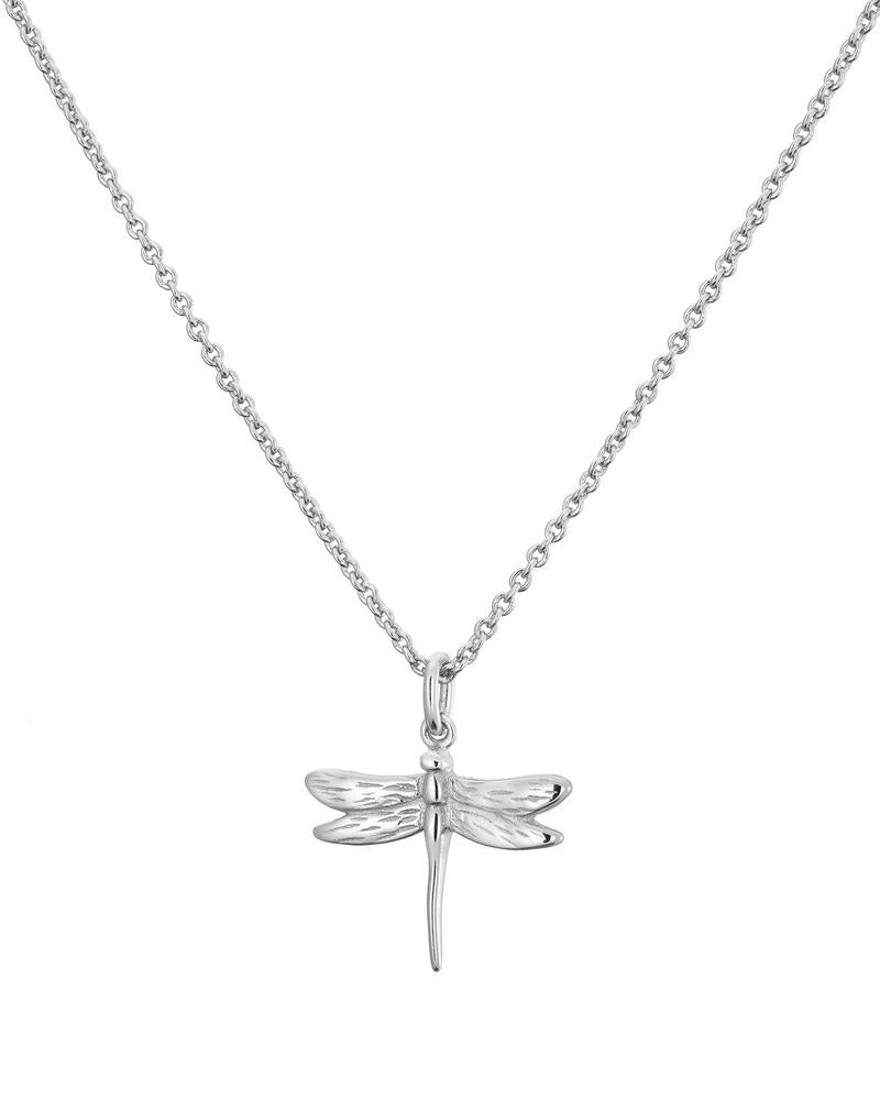 Mary K Dragon Fly Silver Necklace