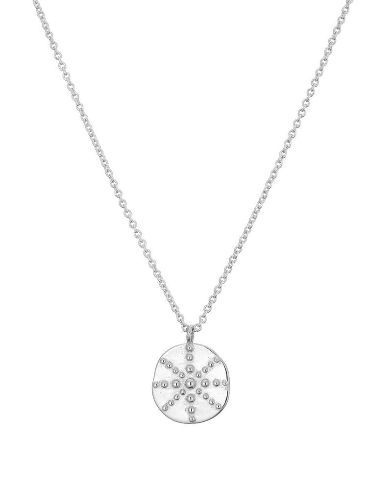 Mary K Silver Token Necklace