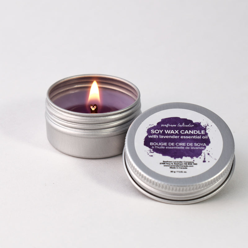 Lavender Essential Oil Tealight Candle