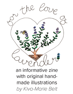 Zine: For the Love of Lavender
