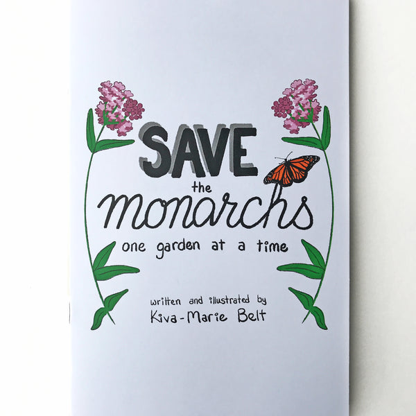 Zine: Save the Monarchs