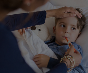Any connection related to the fever reducer and asthma symptoms disappeared by the time the child was 7-years-old.