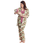 Everly Grey 5 Pc Matching Set - Beige Floral