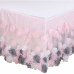 The Peanut Shell Bed Skirt - Colette