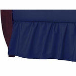 Brixy Percale Dust Ruffle - Navy
