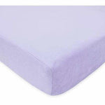 Brixy Chenille Crib Sheet - Lavender