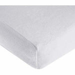 Brixy Chenille Crib Sheet - White