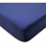 Crib Sheet - Chenille Navy