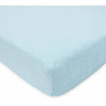 Brixy Chenille Crib Sheet - Blue