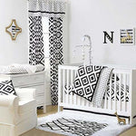 The Peanut Shell 3 Piece Set - Tile Black & White