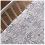 Lolli Living Fitted Crib Sheet - Naturi