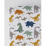 Little Unicorn Muslin Crib Sheet - Dinosaurs