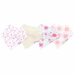 Copper Pearl Bandana Bibs 4 Pack - June