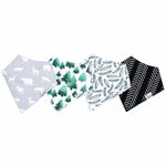 Copper Pearl Bandana Bibs 4 Pk, Woodland Set