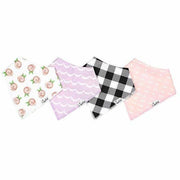 Copper Pearl Bandana Bibs 4 Pack - Rosie - Kid's Stuff Superstore