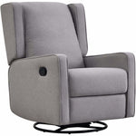 Charley Swivel Recliner Glider - Shadow Grey