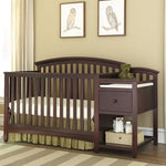 Morgan Crib w/ Attached Changer