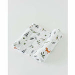 Little Unicorn Cotton Muslin Swaddle - Forest Friends