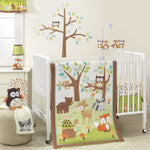 Lambs & Ivy 3 Piece Set - Friendly Forest