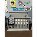 Baby's Dream Legendary Stationary Flat Top Solid Crib - Vintage Grey (While Supplies Last)