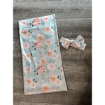 Swaddle with Headband
